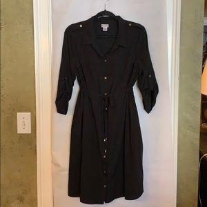 Motherhood black maternity dress XL